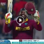 Chris Gayle 100 runs vs England in WC T20 2016
