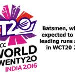 Best Batsman of T20 Worldcup 2016