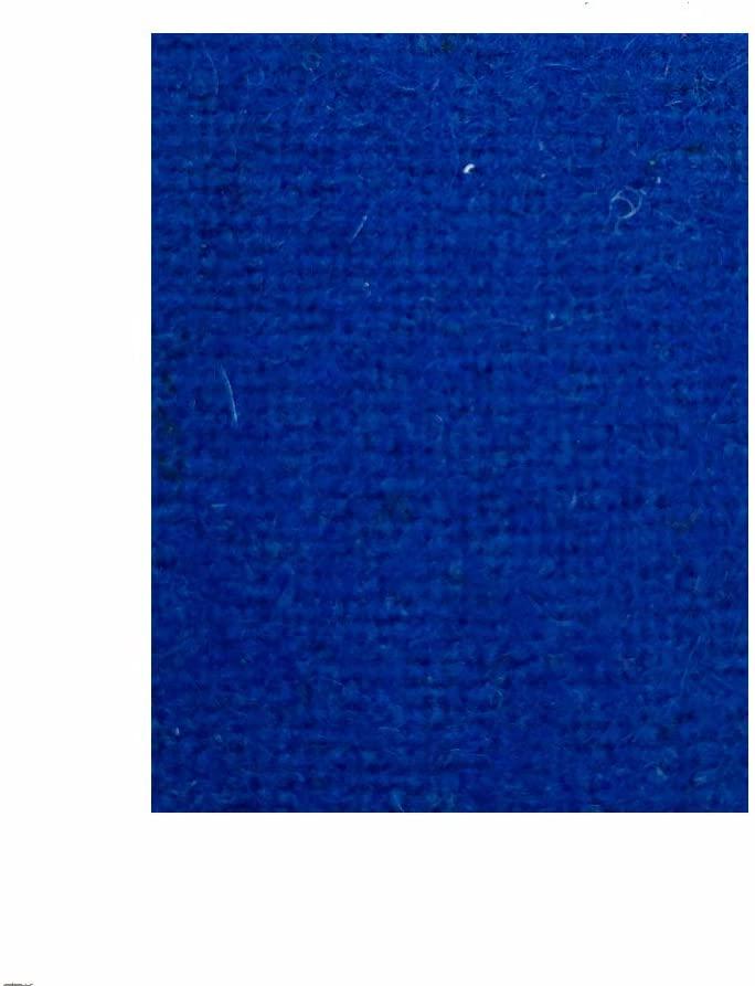 8′ Euro Blue ProLine Felt