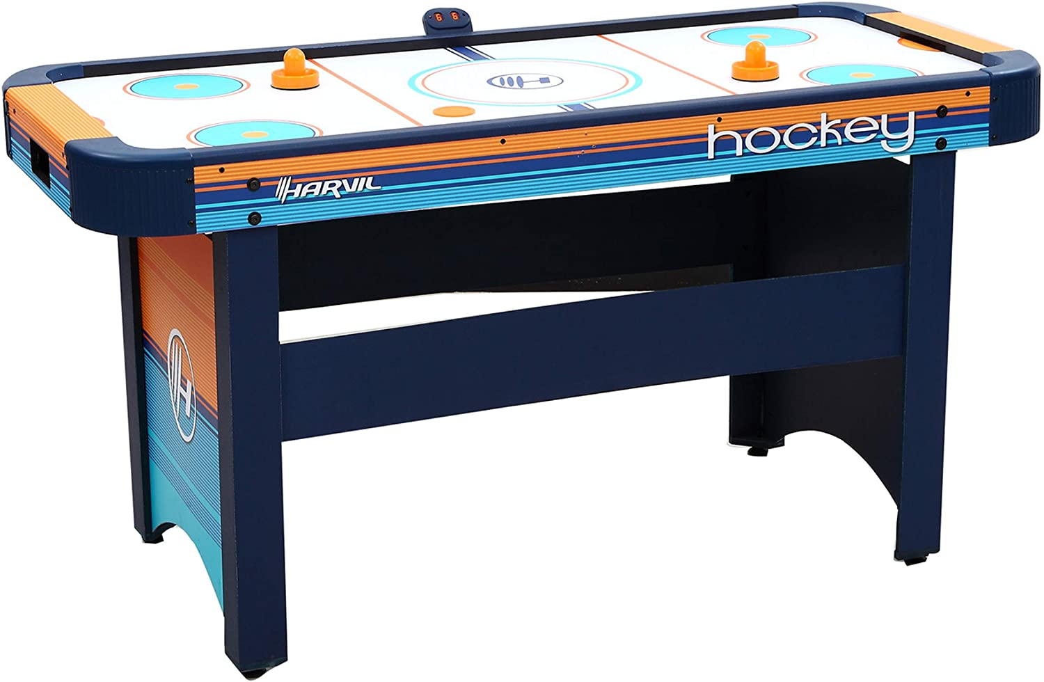GHarvil 5 Foot Air Hockey Table