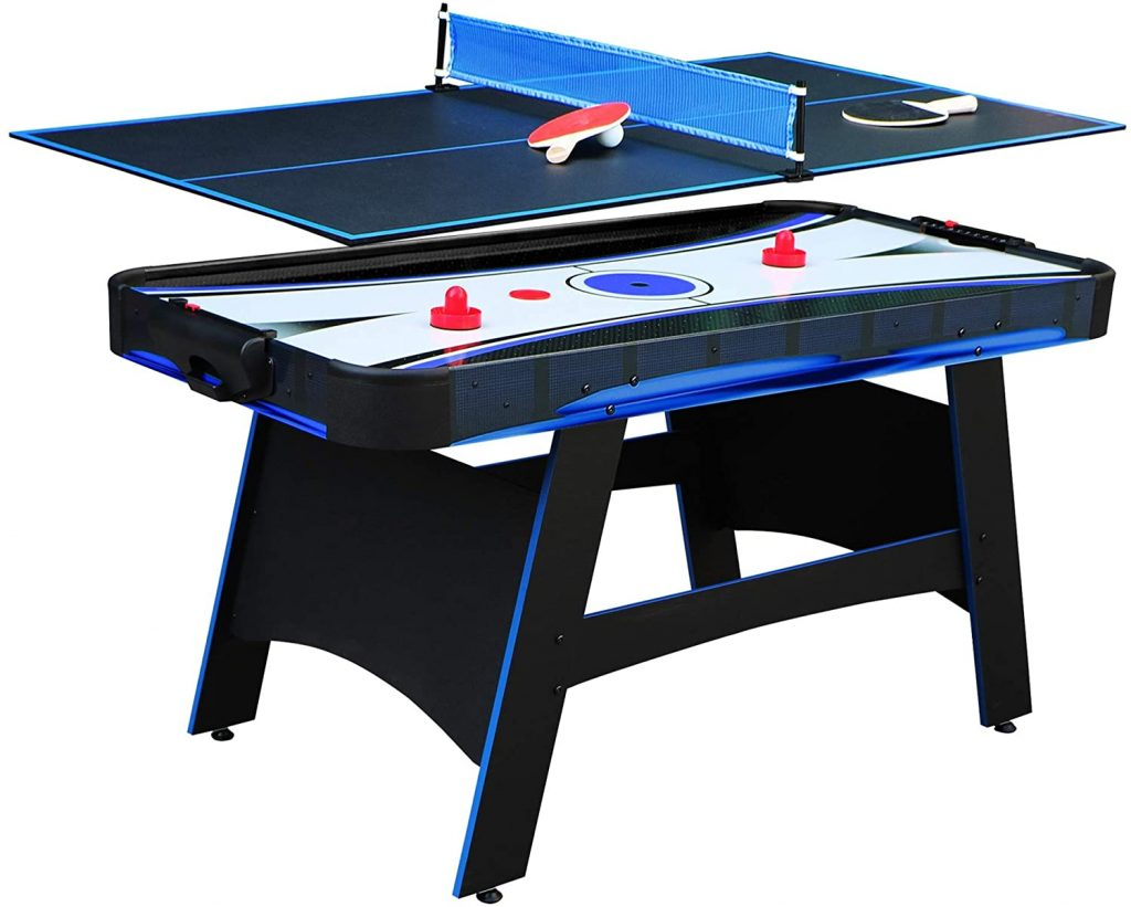 Best air hockey ping pong table combo
