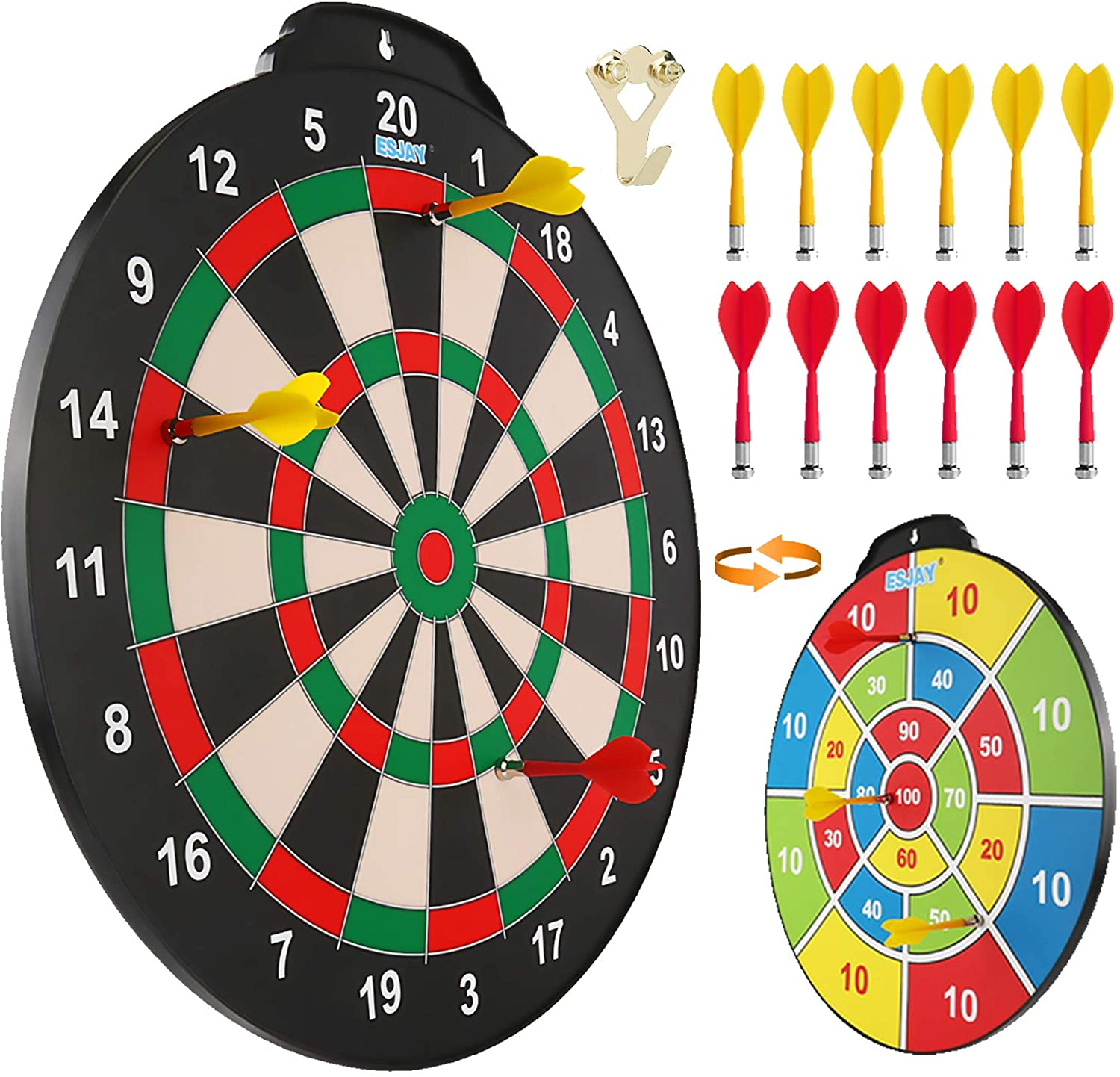 Esjay Magnetic Dart Board Set