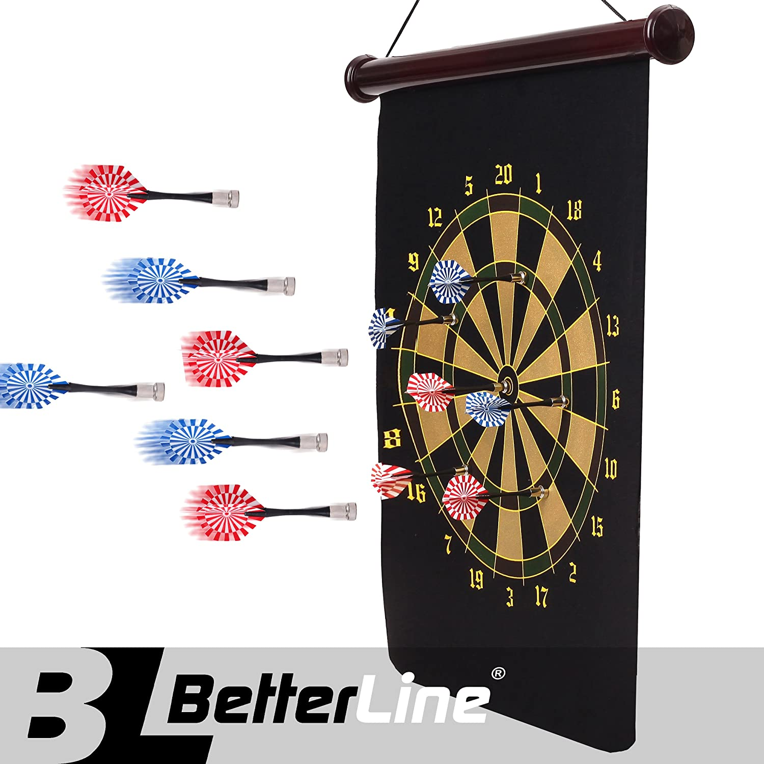 BetterLine Roll-up Magnetic Dartboard