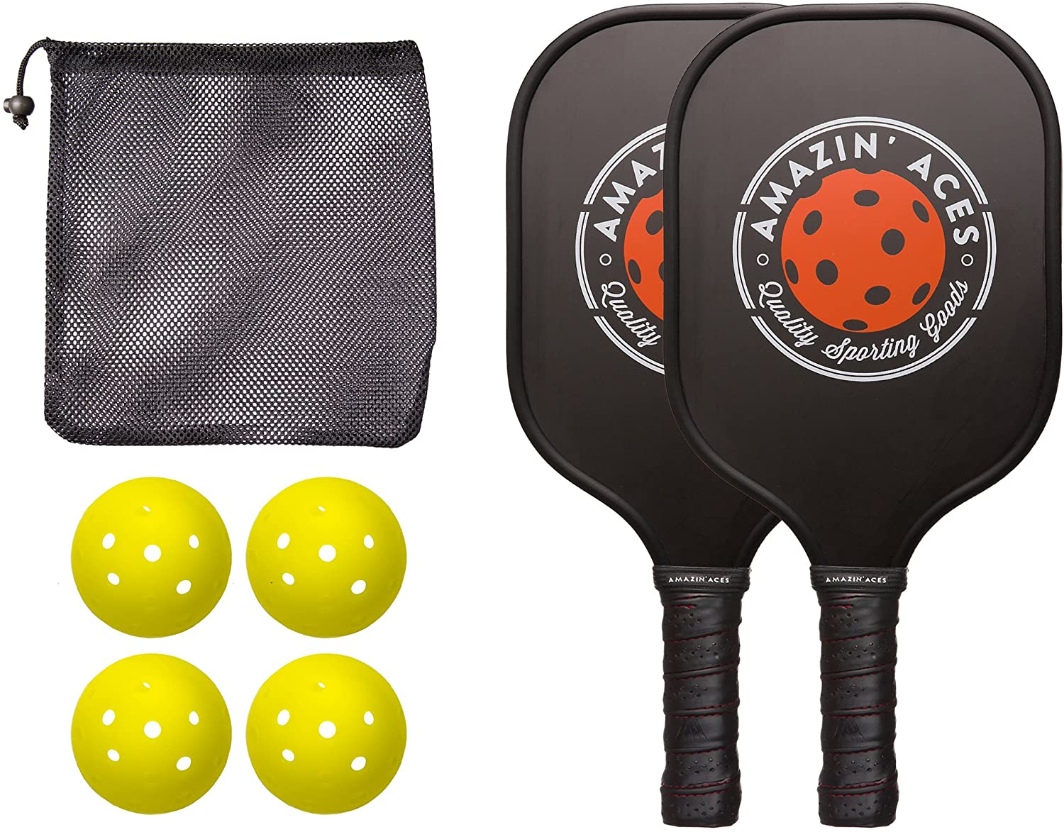 Amazin' Aces Pickleball Paddle Set