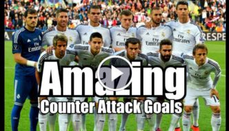 Real Madrid - Amazing Counter Attack Goals – HD [Video]
