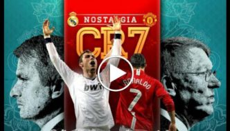 Cristiano Ronaldo - Manchester United vs Real Madrid Battle [Video]