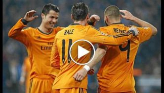 Bale Benzema and Cristiano Ronaldo - The BBC show [Video]