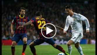 Cristiano Ronaldo All goals vs Barcelona - One man Army [Video]