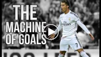 Cristiano Ronaldo - A pure goal-Machine for Real Madrid [Video]
