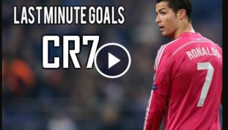Cristiano Ronaldo Best Last Minute Goals Ever [Video]