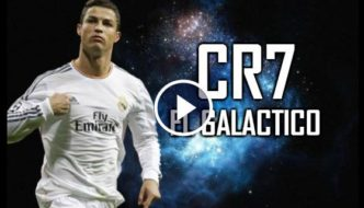 Cristiano Ronaldo El Galactico - Skills & Goals with Real Madrid [Video]