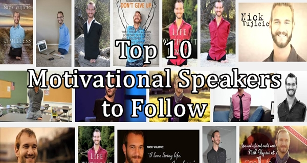 Top 10 Motivational Speakers to Follow - The Wisest