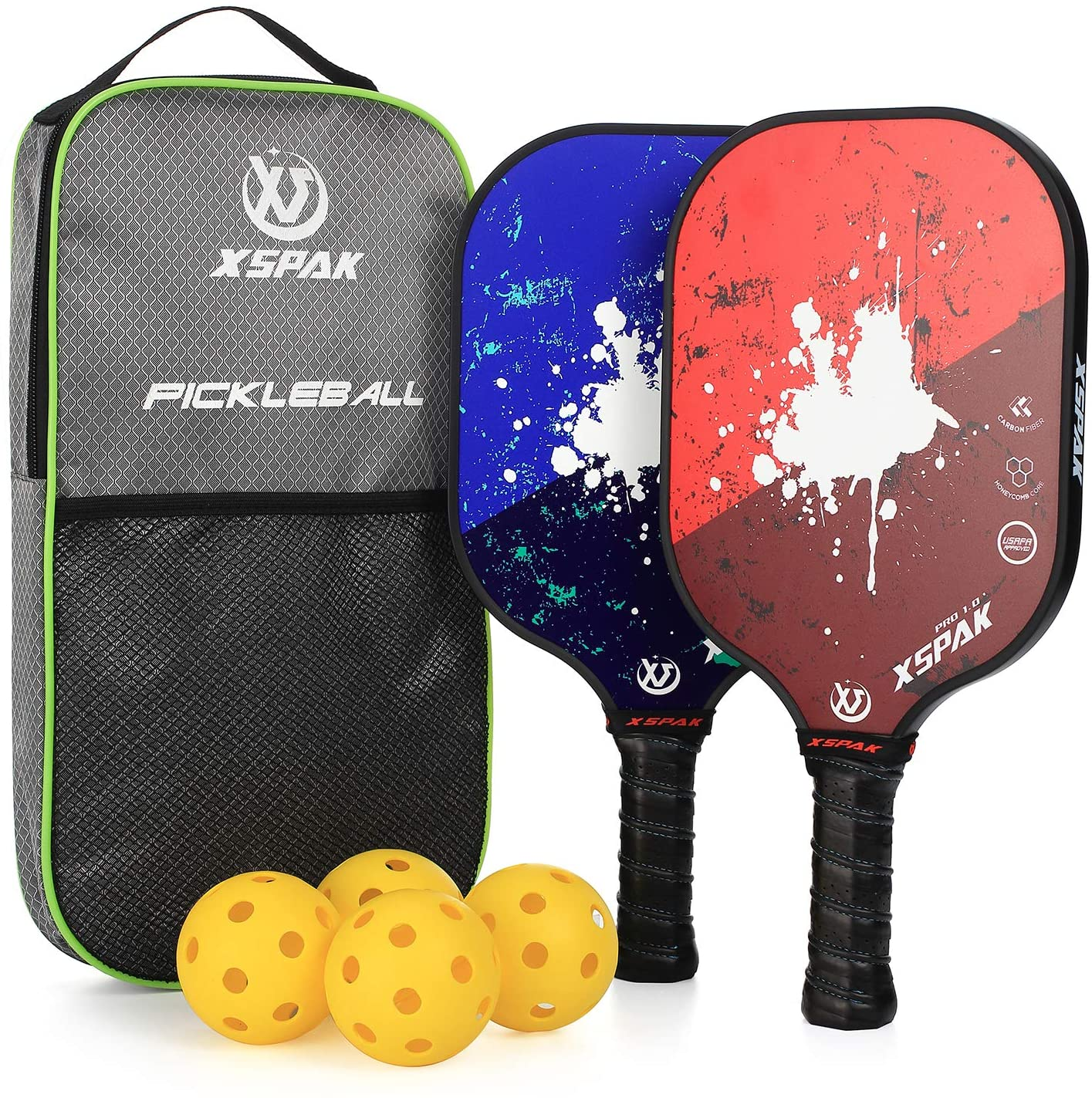 XS XSPAK Pickleball Paddles Set