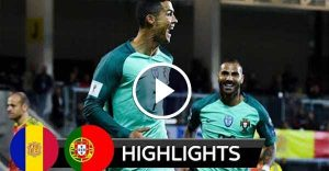 Andorra vs Portugal 0-2 – All Goals & Highlights